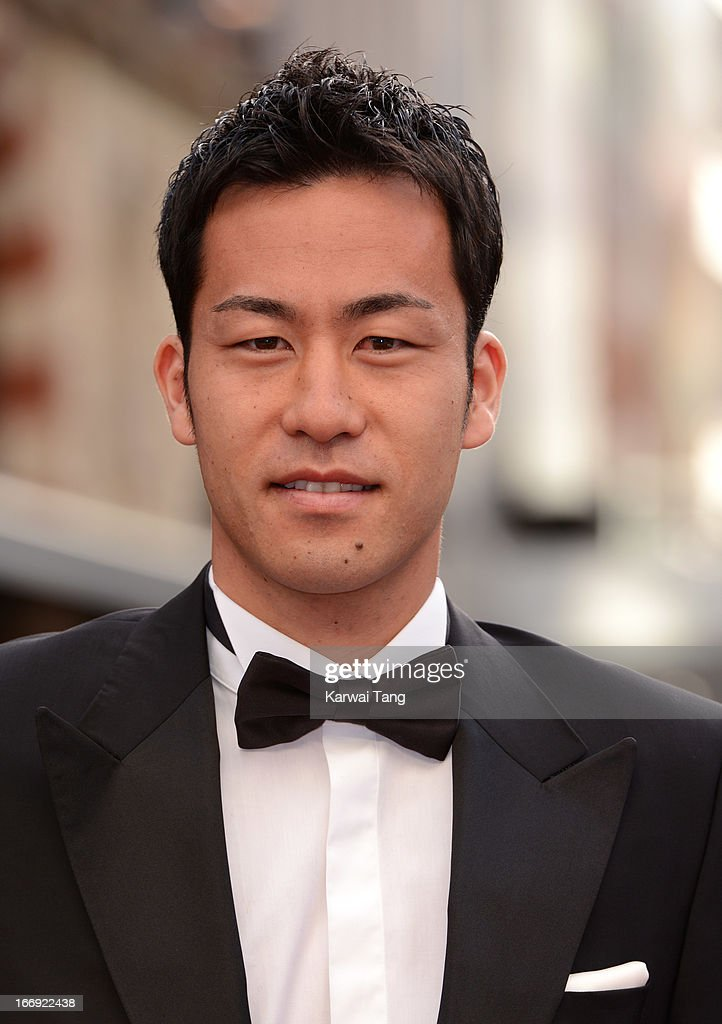 Maya Yoshida attends a special screening of 'Iron Man 3' at Odeon Leicester Square on April 18, 2013 in London, England.