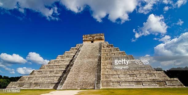 Pirâmide maia, no México