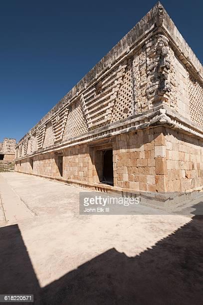 Mayan ruins at Uxmal