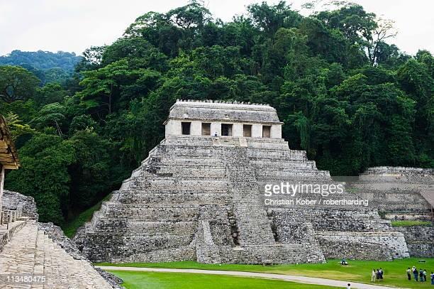 Mayan ruins, Palenque, UNESCO World Heritage Site, Chiapas state, Mexico, North America