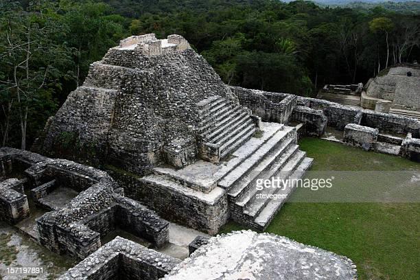 Temple Maya, Caracol, Belize