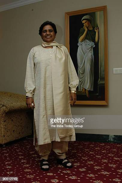 Mayawati Bahujan Samaj Party President and former Chief Minister of Uttar Pradesh