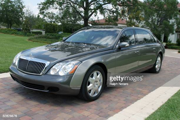 Maybach cars is displayed during Maybach and Stone Creek Ranch 'Ride and Drive' event on May 14 2005 in Delray Florida