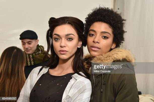 Maybelline at Cushnie Et Ochs fashion show during New York Fashion Week The Shows Day 2 on February 10 2017 in New York City