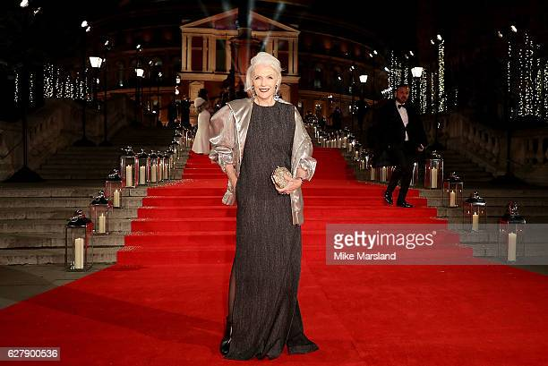 Maye Musk attends The Fashion Awards 2016 on December 5 2016 in London United Kingdom