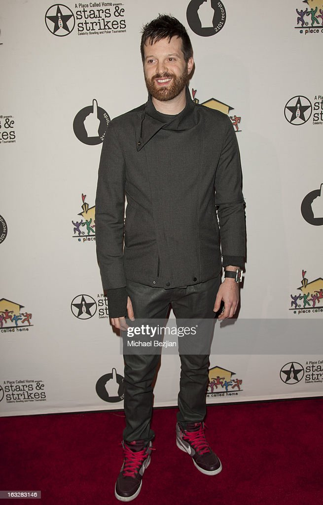 Mayer Hawthorne attends the 7th Annual 'Stars and Strikes' Celebrity Bowling And Poker Tournament Benefiting A Place Called Home at PINZ Bowling & Entertainment Center on March 6, 2013 in Studio City, California.