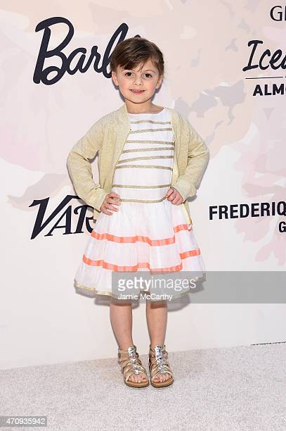 Mayhem of Fashion by Mayhem attends Variety's Power of Women New York presented by Lifetime at Cipriani 42nd Street on April 24 2015 in New York City