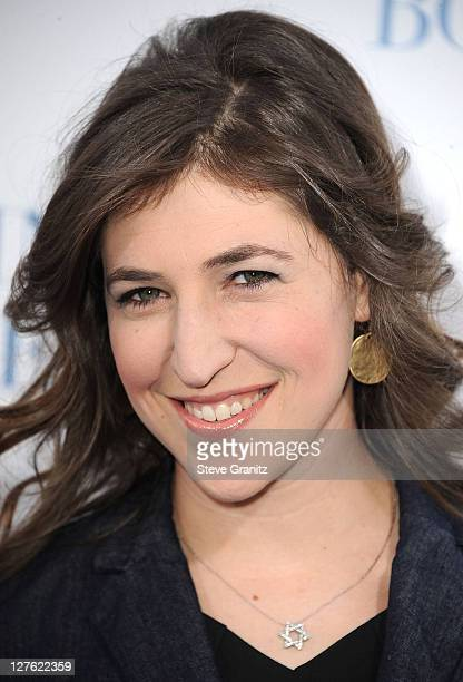 Mayim Bialik attends the 'Something Borrowed' Los Angeles Premiere on May 3 2011 in Hollywood California