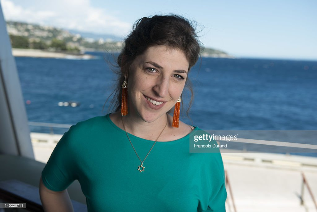 Mayim Bialik poses for a portrait session during the 52nd Monte Carlo TV Festival on June 12, 2012 in Monaco, Monaco.
