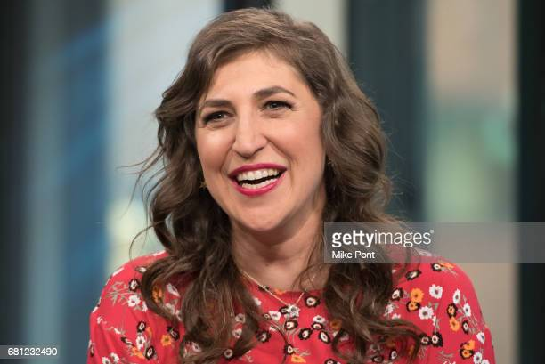 Mayim Bialik visits Build Studio to discuss her new book 'Girling Up How to Be Strong Smart and Spectacular' at Build Studio on May 9 2017 in New...