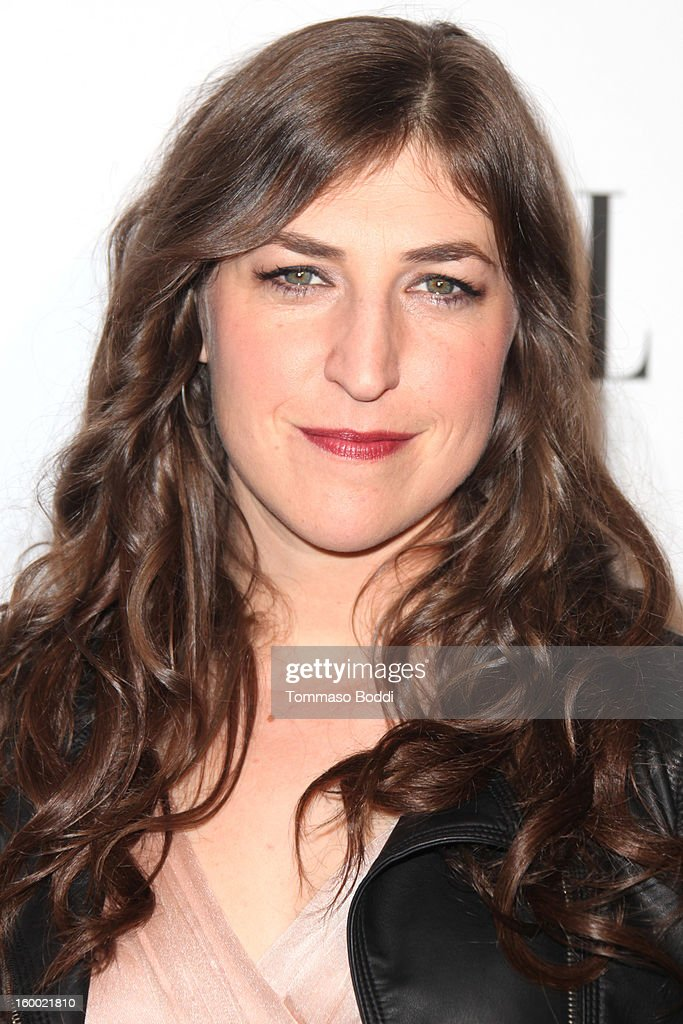 Mayim Blanik attends the ELLE Women in Television Celebration presented by Hearts on Fire Diamonds and Wella Professionals held at Soho House on January 24, 2013 in West Hollywood, California.