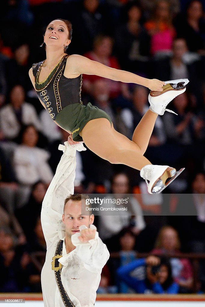 Maylin and <a gi-track='captionPersonalityLinkClicked' href=/galleries/search?phrase=Daniel+Wende&family=editorial&specificpeople=2089493 ng-click='$event.stopPropagation()'>Daniel Wende</a> of Germany compete in the Pair's Free Skating competition during day two of the ISU Nebelhorn Trophy at Eissportzentrum Oberstdorf on September 27, 2013 in Oberstdorf, Germany.