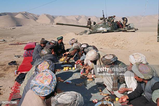 Maymana fighters in Herat Province allied to General Dostum fight against the Taliban The city of Herat was captured by the Taliban in September 1995