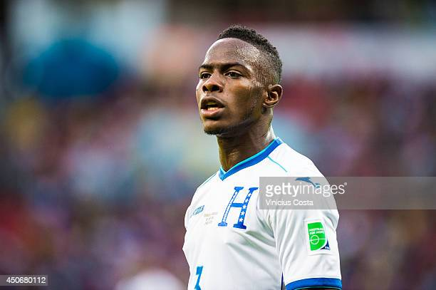 Maynor Figueroa of Honduras during the 2014 FIFA World Cup Brazil Group E match between France and Honduras at Estadio BeiraRio on June 15 2014 in...