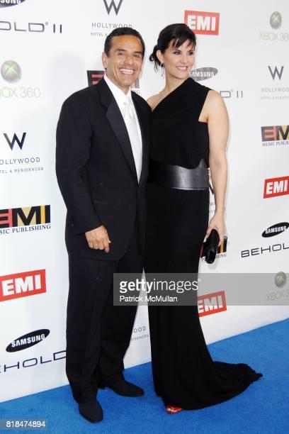 Mayor Antonio Villaraigosa and Lu Parker attend EMI POSTGRAMMY PARTY AT THE NEW W HOLLYWOOD HOTEL at The W Hollywood on January 31 2010 in Hollywood...
