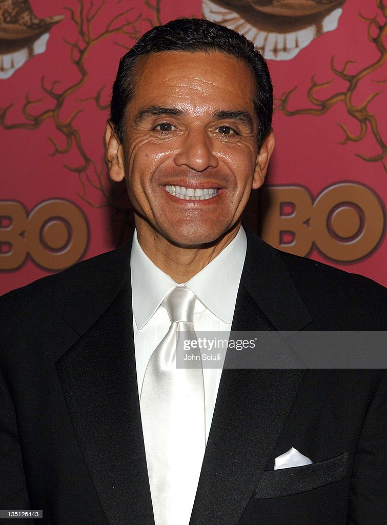 Mayor <a gi-track='captionPersonalityLinkClicked' href=/galleries/search?phrase=Antonio+Villaraigosa&family=editorial&specificpeople=178925 ng-click='$event.stopPropagation()'>Antonio Villaraigosa</a> during 58th Annual Primetime Emmy Awards - HBO After Party - Red Carpet and Inside at Pacific Design Center in West Hollywood, California, United States.