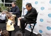 Mayor Antonio Villaraigosa during The Wonder Of Reading's Explore A Story A Celebration of Books at ArcLight Cinemas in Hollywood California United...