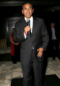 Mayor Antonio Villaraigosa during Young Hollywood Reception with Senator Hillary Clinton Hosted by Brett Ratner at Hillhaven Lodge in Los Angeles...