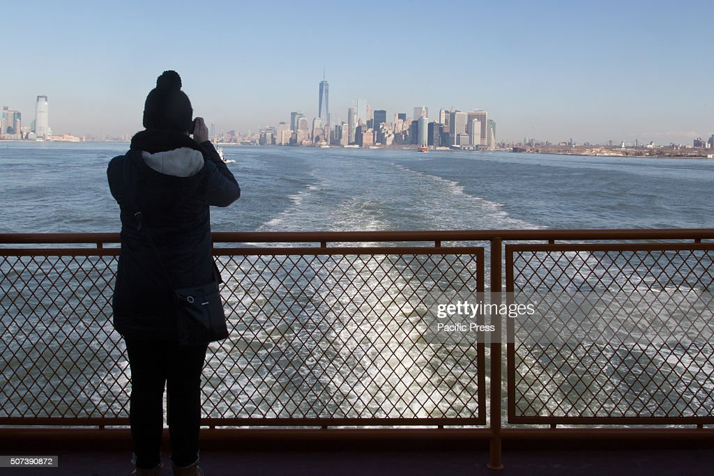 Mayor Bill de Blasio and Staten Island borough president Oddo announce new Staten Island ferry boat which will honor Afghanistan war hero Staff...