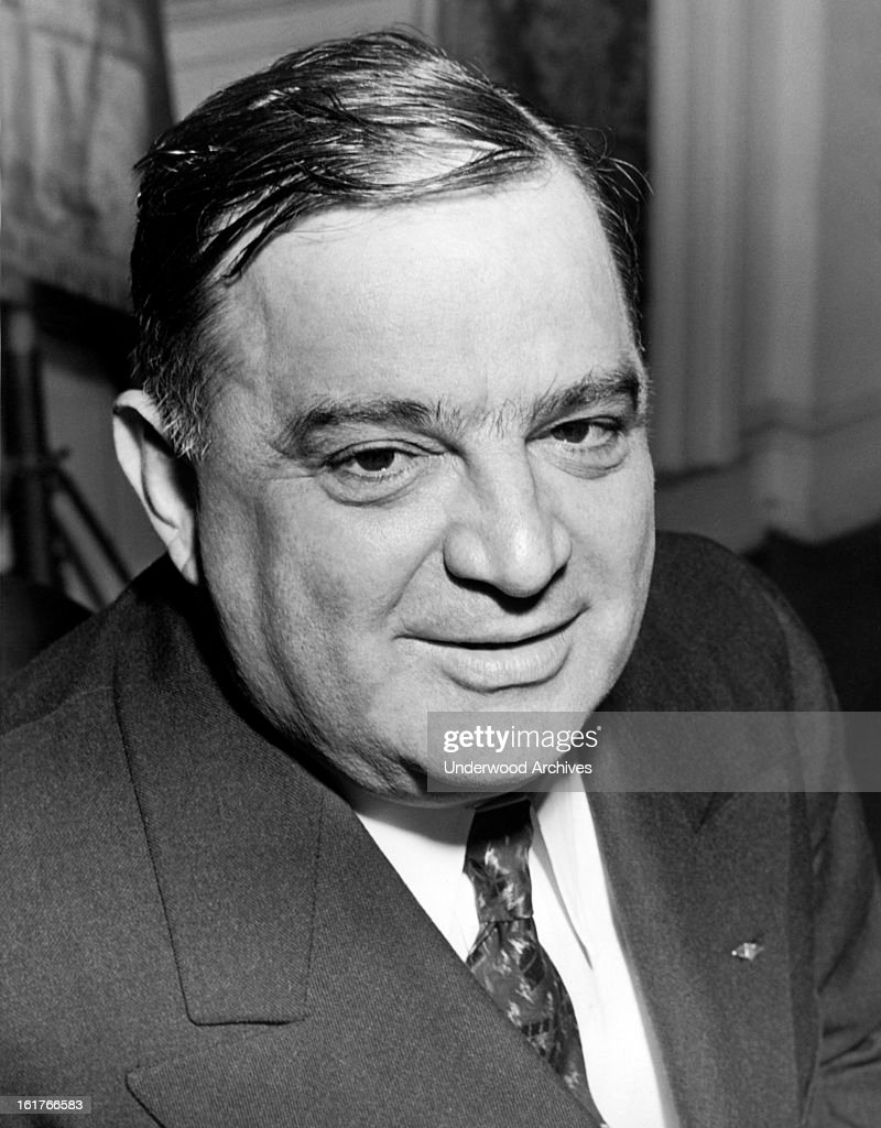 Mayor Fiorello LaGuardia of New York as he was just elected for a third term as mayor, New York, New York, November 5, 1941.