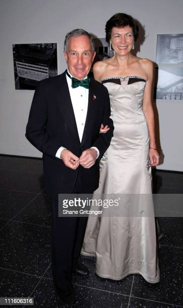 Mayor Michael Bloomberg and Diana Taylor during The Museum of Modern Art Honors Martin Scorsese at the 39th Annual Party In The Garden Gala at Abby...
