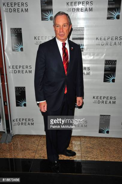 Mayor Michael Bloomberg attends THE 12th ANNUAL KEEPERS OF THE DREAM AWARDS at Sheraton NY Hotel and Towers NYC on April 15 2010