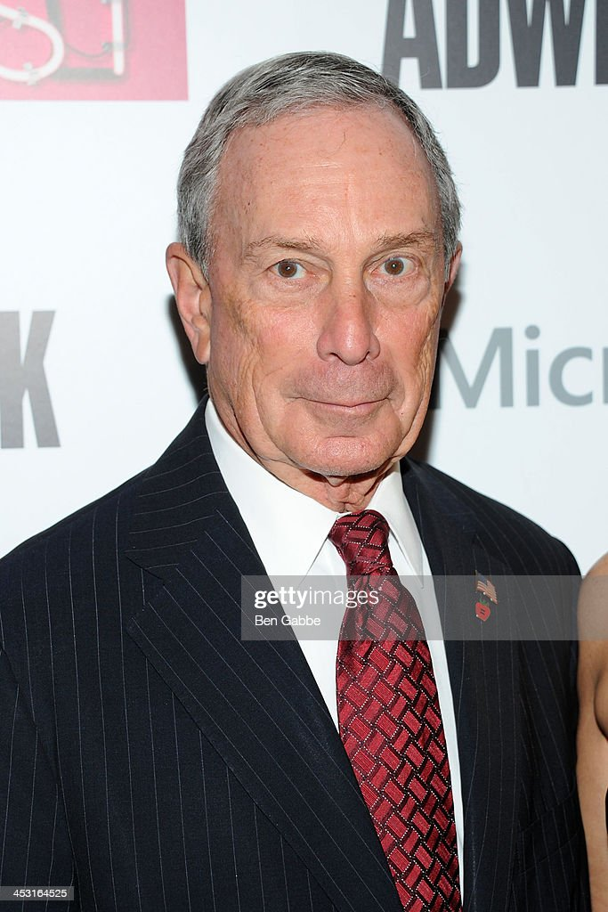 Mayor <a gi-track='captionPersonalityLinkClicked' href=/galleries/search?phrase=Michael+Bloomberg&family=editorial&specificpeople=171685 ng-click='$event.stopPropagation()'>Michael Bloomberg</a> attends the 2013 Adweek Hot List gala at Capitale on December 2, 2013 in New York City.