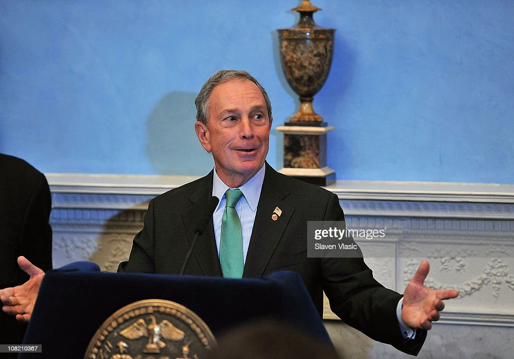 Mayor Michael Bloomberg attends the Recording Academy New York Chapter's 53rd GRAMMY Award Nominees Reception at Gracie Mansion on January 20, 2011 in New York City.