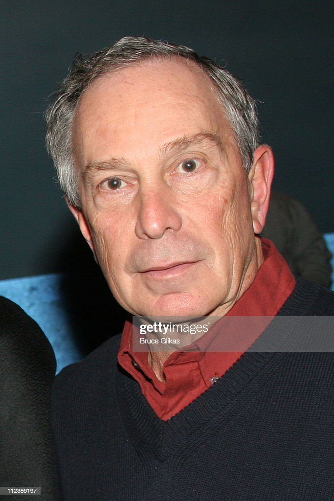 Mayor Michael Bloomberg **EXCLUSIVE COVERAGE** during New Year's 2006 in New York City - Mayor Bloomberg, Ray Kelly and Charles Schumer Spend New Year's Eve at 'Dirty Rotten Scoundrels' on Broadway at The Imperial Theater in New York, New York, United States.