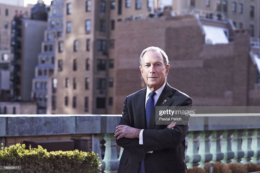 NYC Mayor Michael Bloomberg is photographed for Financial Times on April 15, 2013 in New York City.