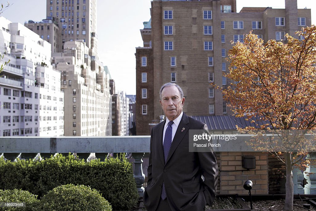 NYC Mayor <a gi-track='captionPersonalityLinkClicked' href=/galleries/search?phrase=Michael+Bloomberg&family=editorial&specificpeople=171685 ng-click='$event.stopPropagation()'>Michael Bloomberg</a> is photographed for Financial Times on April 15, 2013 in New York City.