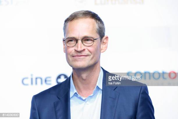 Mayor of Berlin Michael Mueller attends the summer party 2017 of the German Producers Alliance on July 12 2017 in Berlin Germany