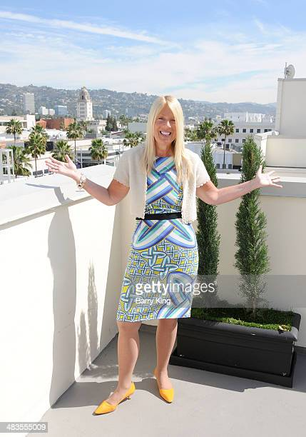 Mayor of Beverly Hills Lili Bosse attends the Guittard Chocolate Company Cake Model Preview event and tasting on April 9 2014 at Luxe Rodeo Drive...