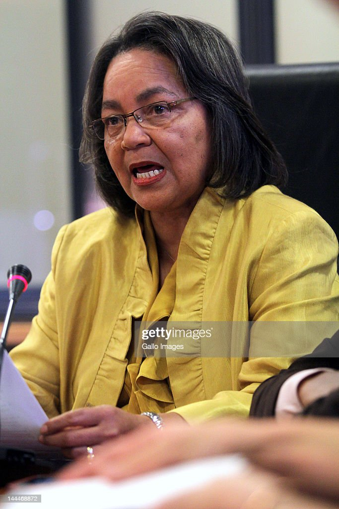 Mayor of Cape Town, Patricia de Lille at a press conference on May 14, 2012 in Cape Town, South Africa. She announced that American president Barack Obama and first lady Michelle Obama will be awarded the Freedom of the City of Cape Town.