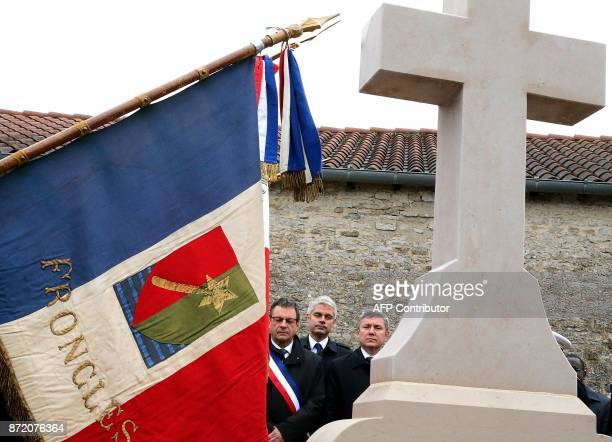 Mayor of ColombeylesDeuxEglises Pascal Babouot and VicePresident of the French rightwing Les Republicains party and candidate for the LR presidency...