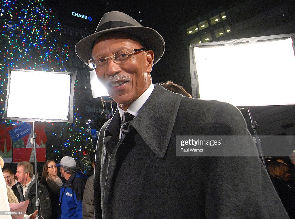 Mayor of Detroit Dave Bing attends Detroit's Christmas tree lighting ceremony at Campus Martius Park on November 16, 2012 in Detroit, Michigan.