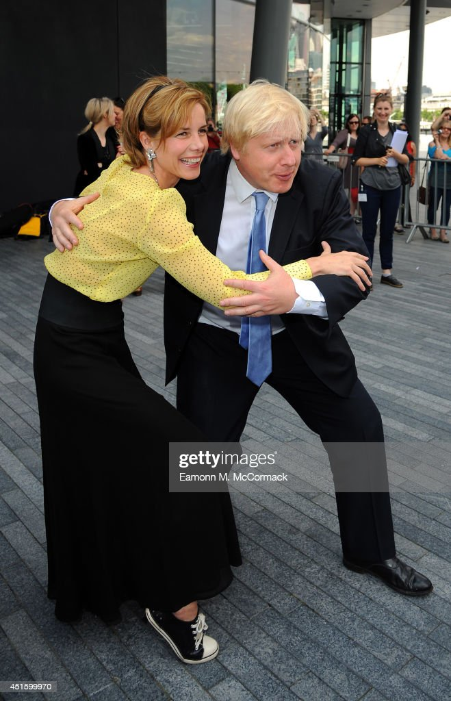 Mayor of London Boris Johnson and Darcey Bussell Launch Big Dance 2014 at City Hall on July 2 2014 in London England