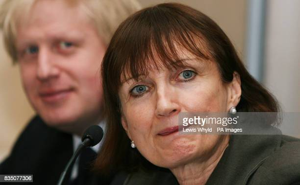 Mayor of London Boris Johnson and Olympics Minister Tessa Jowell join Communities Secretary Hazel Blears at Stratford Town Hall to launch their plans...