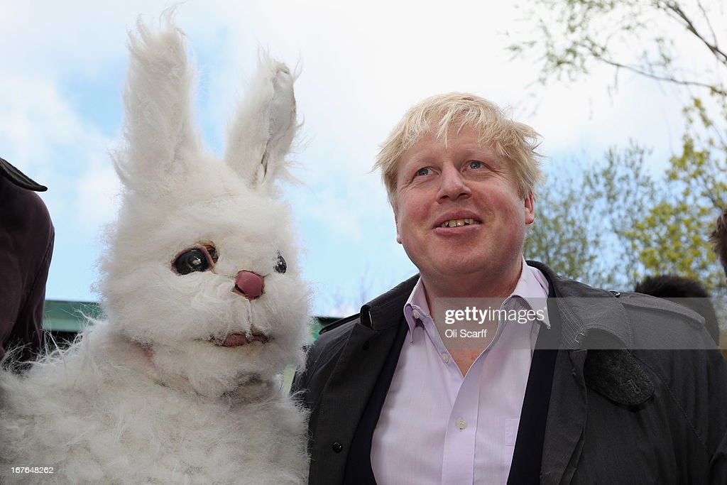 Mayor of London <a gi-track='captionPersonalityLinkClicked' href=/galleries/search?phrase=Boris+Johnson&family=editorial&specificpeople=209016 ng-click='$event.stopPropagation()'>Boris Johnson</a> attends a protest calling for no third runway to be built at Heathrow airport on April 27, 2013 in London, England. The rally against Heathrow expansion, organised by Zac Goldsmith, featured speeches from MPs from all political parties and council leaders.