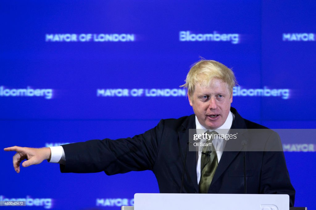 Boris Johnson Speech on Europe | Getty Images