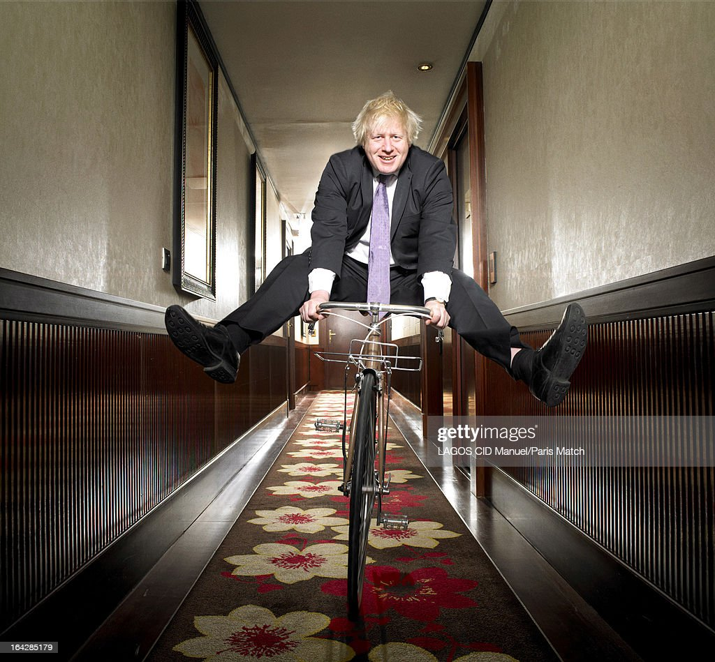 Mayor of London <a gi-track='captionPersonalityLinkClicked' href=/galleries/search?phrase=Boris+Johnson&family=editorial&specificpeople=209016 ng-click='$event.stopPropagation()'>Boris Johnson</a> is photographed for Paris Match on March 14, 2013 in Paris, France.