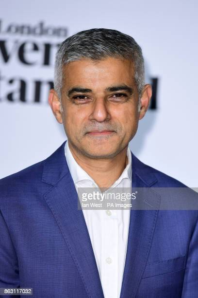 Mayor of London Sadiq Khan at the London Evening Standard's annual Progress 1000 in partnership with Citi and sponsored by Invisalign UK held in...