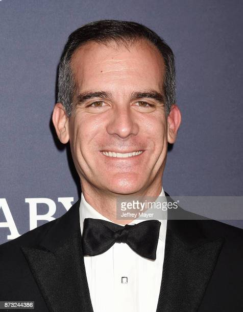 Mayor of Los Angeles Eric Garcetti attends the 2017 Baby2Baby Gala at 3Labs on November 11 2017 in Culver City California