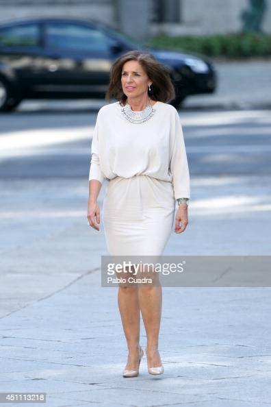 Mayor of Madrid Ana Botella Attends The Opening of 'El Greco y La Pintura Moderna' Exhibition at El Prado Museum on June 23 2014 in Madrid Spain