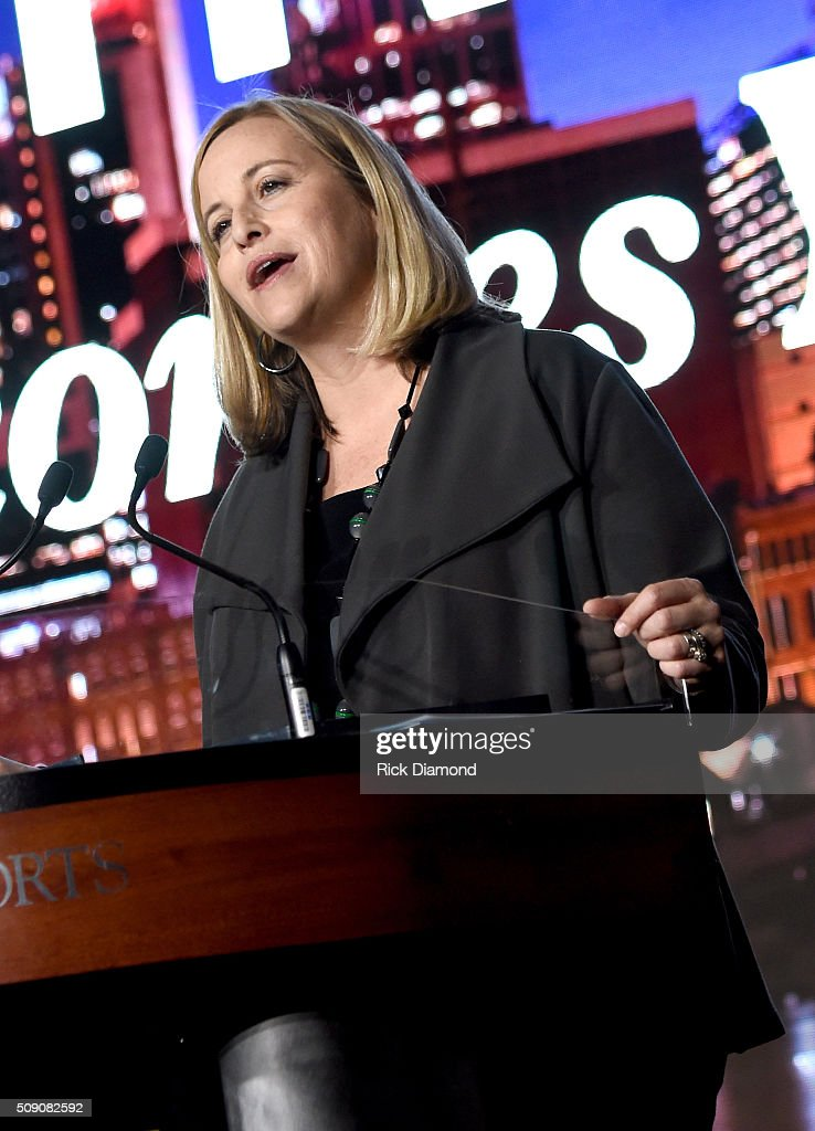 Mayor of Nashville Megan Barry speaks onstage during the CRS 2016 at Omni Hotel on February 8, 2016 in Nashville, Tennessee.