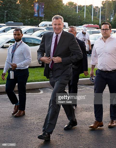 Mayor of New York City Bill de Blasio attends the 15th annual USTA opening night gala at USTA Billie Jean King National Tennis Center on August 31...