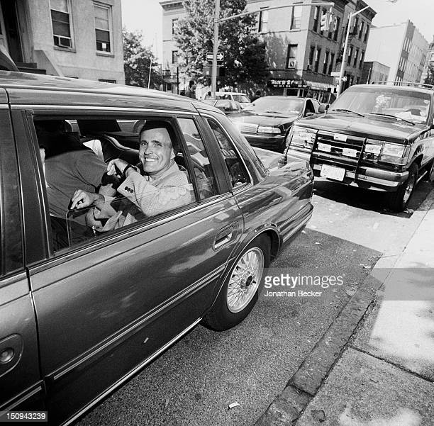 Mayor of New York City Rudolph Giuliani is photographed for Vanity Fair Magazine in September 1993 in New York City PUBLISHED IN JONATHAN BECKER 30...