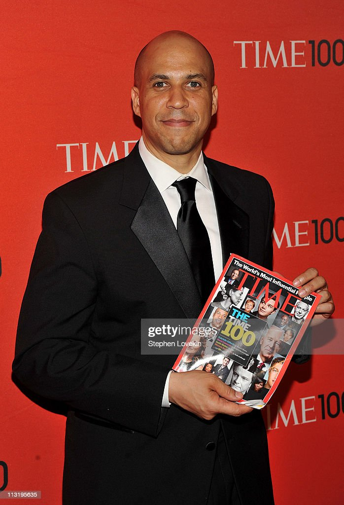 Mayor of Newark Cory Booker attends the TIME 100 Gala, TIME'S 100 Most Influential People In The World at Frederick P. Rose Hall, Jazz at Lincoln Center on April 26, 2011 in New York City.