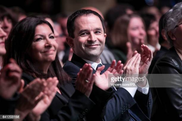 Mayor of Paris Anne Hidalgo attends the National Investiture Convention of candidate of the Socialist Party for the 2017 French Presidential Election...