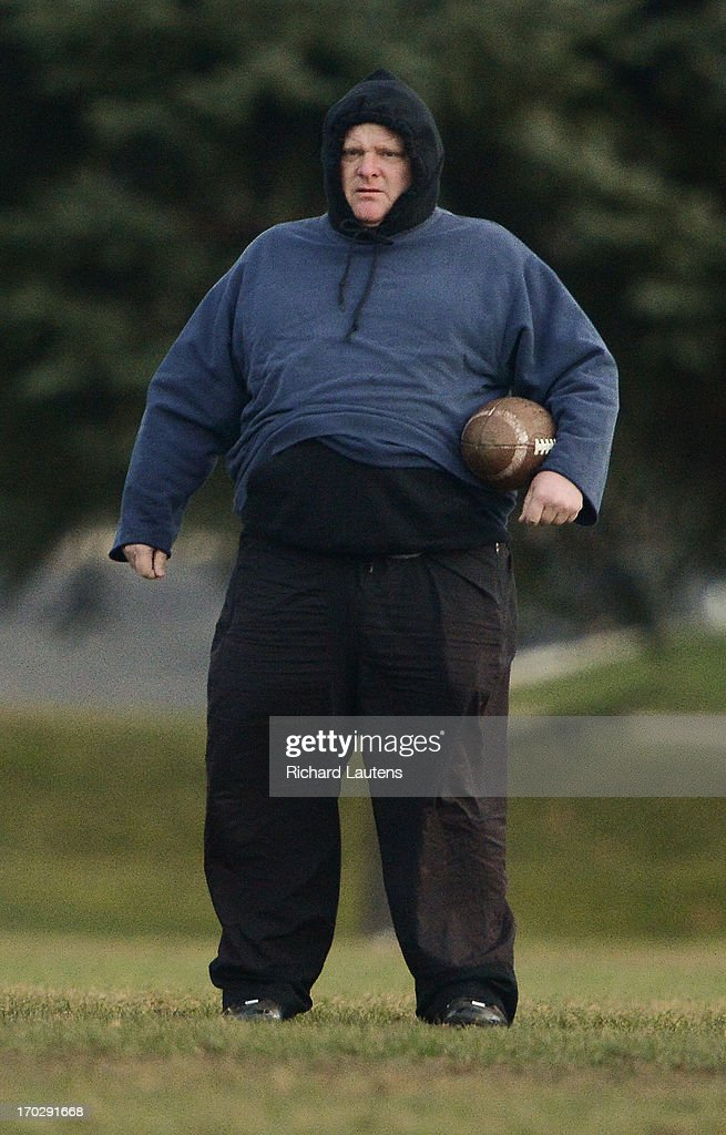 Mayor Rob Ford is seen at football practice with the Don Bosco football team which is at the centre of his conflict of interest conviction. The team practiced at their school in North Etobicoke prior to Tuesday's Metro Bowl final. Monday morning, Mayor Ford was found guilty in his conflict of interest trial and must step down as mayor in 14 days. 12-11-26 Richard Lautens/Toronto Star